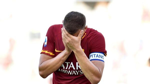 Roma-Cagliari 1-1 | Pari con polemiche all'Olimpico. Infortuni per Diawara e Dzeko