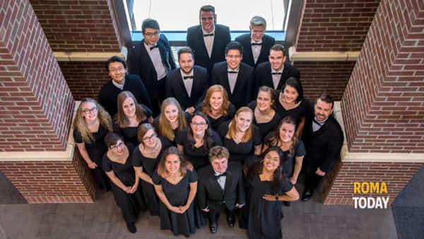 Colorado State University Choir a S.Andrea della Valle