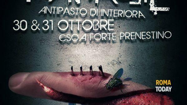 Halloween al Forte Prenestino con Frattaglie di Interiora Horror Fest