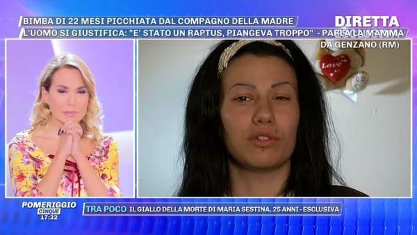 """Bimba picchiata a Genzano, parla la mamma: """"Lo odio, gli sputerei in faccia. Deve pagare finché non muore"""""""