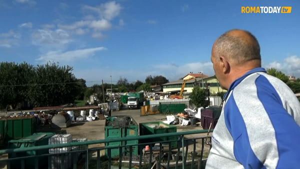 Vivere circondati dai rifiuti: Santa e Antonio e la loro battaglia contro gli impianti di Rocca Cencia