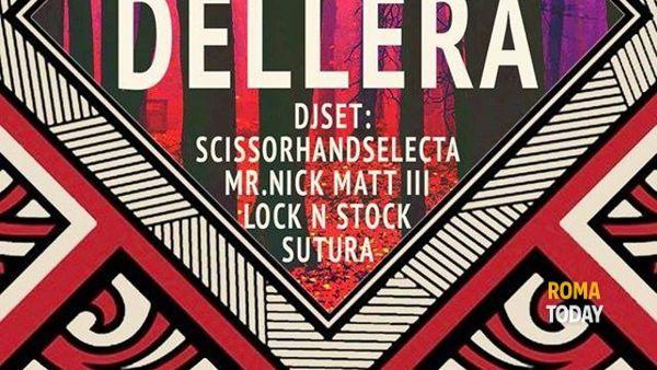 Dellera live @ Dissesto Musicale insieme a Le Mura e Von Datty