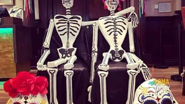 Halloween incontra il Dia de los muertos all'Hard Rock Cafè