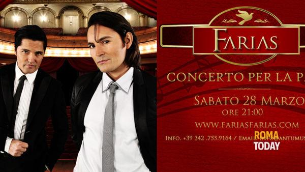 """Farias """" Concerto per la pace """""""