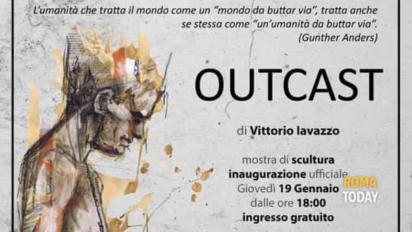 """Galleria Moderni: mostra """"Outcast"""" del giovane artista Vittorio Iavazzo"""