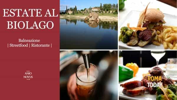 Estate al Biolago Anio Novus, Streetfood in riva al lago