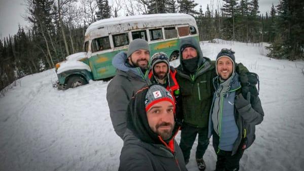 Tra i ghiacci dell'Alaska come Into the wild: parla uno dei romani soccorsi a -15 gradi