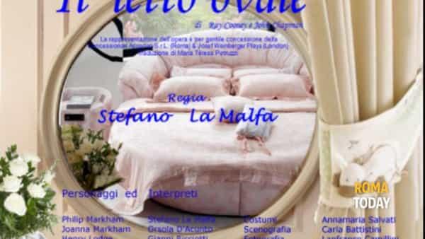 """""""Il letto ovale"""" al Piccolo Teatro San Pio"""
