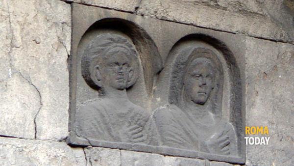 Sepolcri di via statilia e a passeggiata archeologica in zona di Porta Maggiore