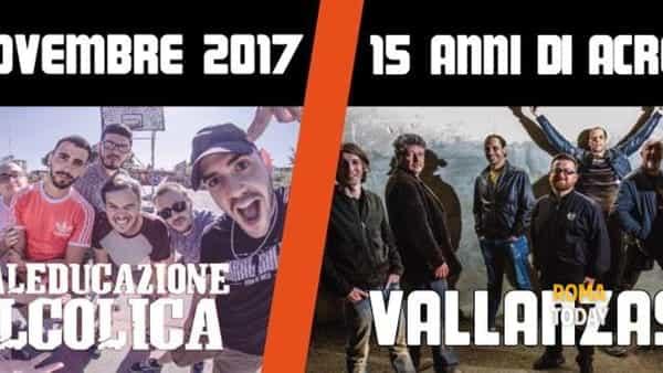 I Vallanzaska arrivano in concerto a Roma