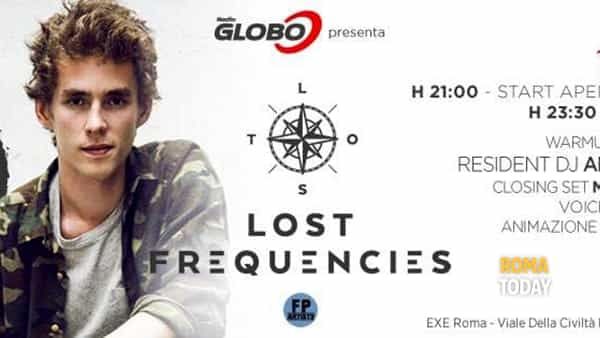 Exe Roma guest dj Lost Frequecies