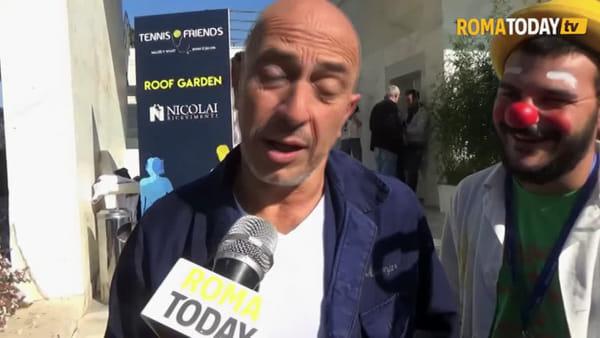 VIDEO | Tennis & Friends, ecco i vip che scendono in campo per la prevenzione