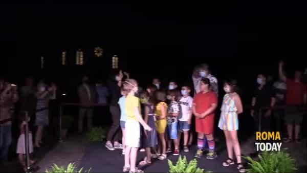 VIDEO | Borgo di Ostia Antica risplende di nuova luce: ecco il nuovo impianto di illuminazione
