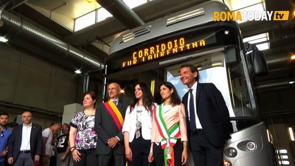 VIDEO | Da Laurentina a Tor Pagnotta, a bordo dei nuovi filobus in servizio sul nuovo corridoio mobilità
