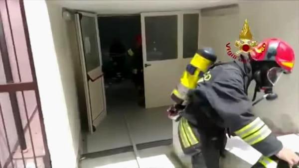 VIDEO | Esplosione a Rocca di Papa: le immagini dei soccorsi