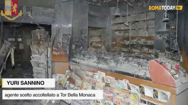 """Tor Bella Monaca, parla l'agente accoltellato: """"Noi accerchiati nel quartiere. Devo la vita al mio collega"""""""