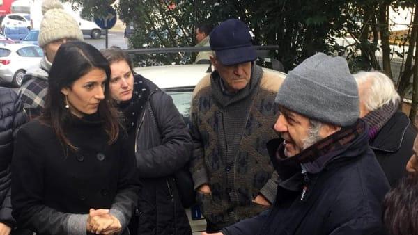 """Frana a Castel Giubileo, Raggi: """"Attivato protocollo hotel solidali per i residenti. Ecco cosa stiamo facendo per rischio idrogeologico"""""""