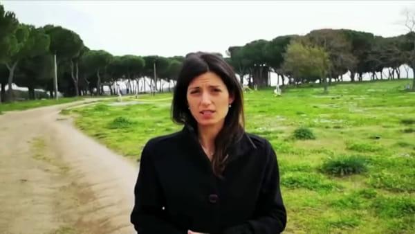VIDEO | Parchi chiusi per il Coronavirus, la Sindaca Raggi in ispezione a quello di Tor Tre Teste