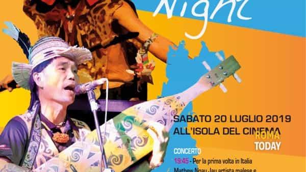 2a Malaysian Night all'Isola del Cinema Roma