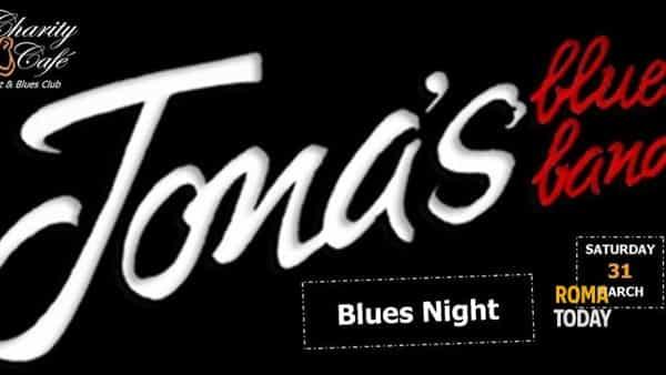 Jona's Blues Band in concerto al Charity Café