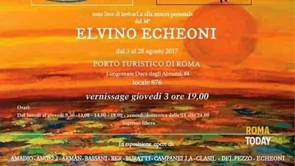 Mostra personale: Elvino Echeoni