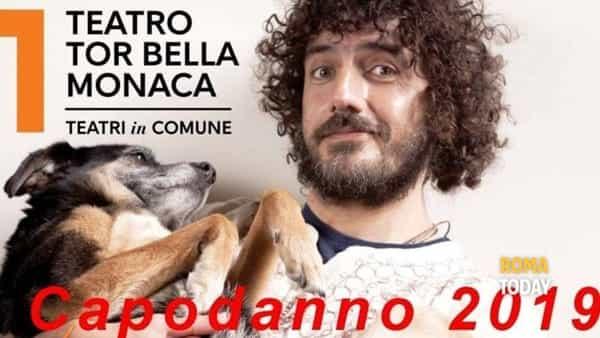 Un Capodanno speciale al Teatro Tor Bella Monaca: c'è Andrea Rivera