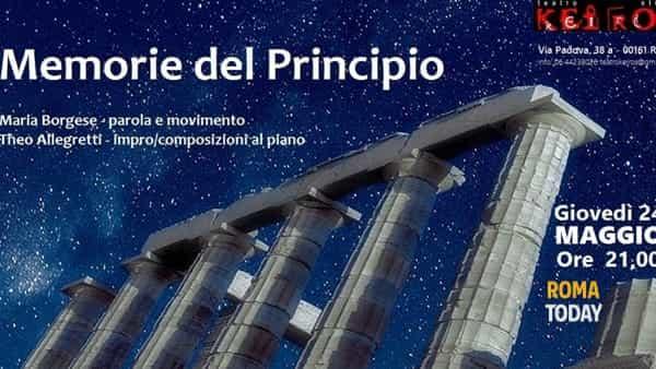 """""""Memorie del Principio"""" al Teatr Keiros"""