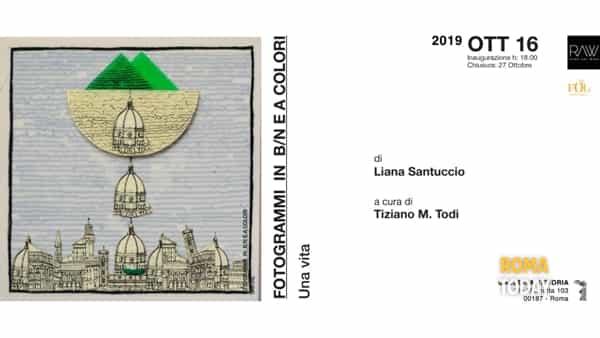 Fotogrammi in b/n e a colori di Liana Santuccio