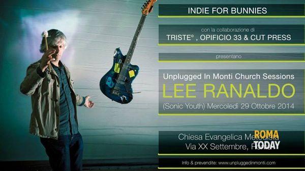 Lee Ranaldo (Sonic Youth) a Roma il 29 ottobre 2014