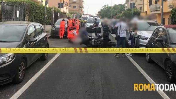 Rilievi scientifici sull'incidente mortale di via Delia a La Rustica