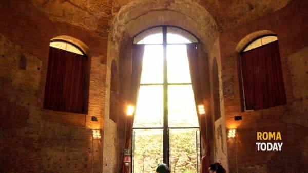La spettacolare residenza degli Horti Sallustiani