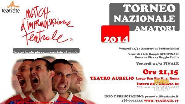 """Match di Improvvisazione Teatrale"" amatori vs professionisti"