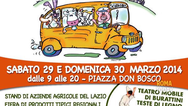 La fattoria va in città a piazza Don Bosco