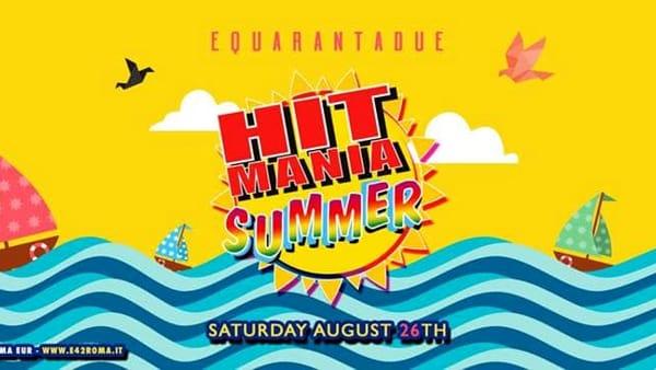 Hit Mania Summer: il party dedicato agli anni '90