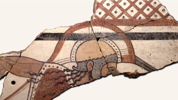 Colori degli Etruschi, la mostra alla Centrale Montemartini