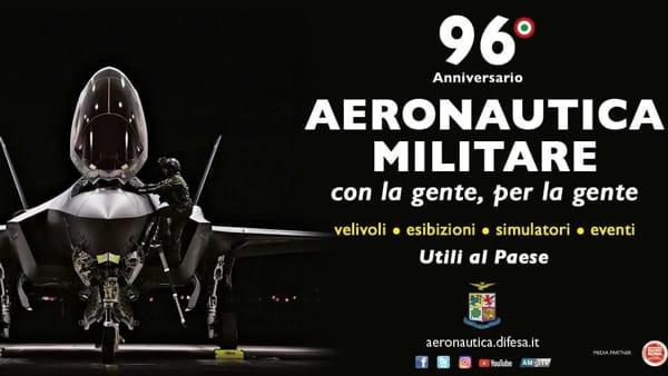 L'aeronautica Militare arriva a Porta di Roma
