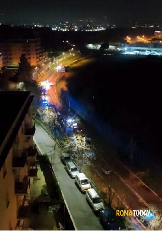 L'inseguimento, gli spari e l'incidente: notte da far west sulla Tiburtina