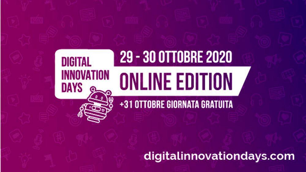 Digital Innovation Days Italy 2020: le novità della 1° edizione online