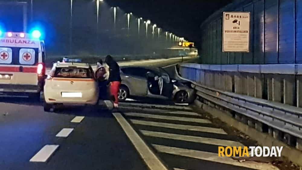 Incidente mortale Raccordo 20 marzo 2018 4-2