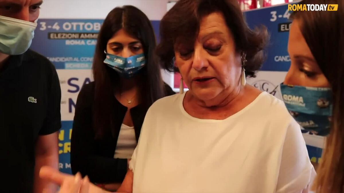 VIDEO   Un giorno con la candidata (pro-sindaco) Simonetta Matone