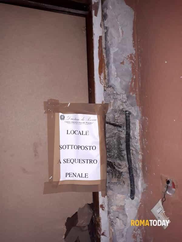 Incendio casa pusher via Ugento 3-2