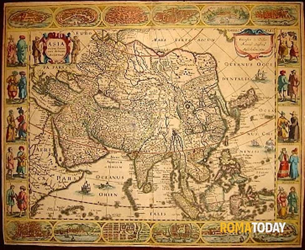 Cartina Antica Roma.Roma Map Fair Stampe E Mappe Antiche Da Tutto Il Mondo