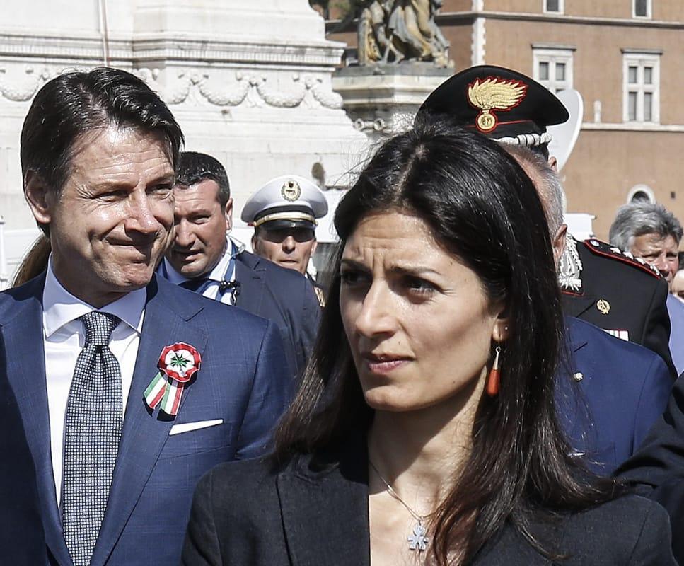 """Comunali Roma, Conte rompe il silenzio: """"Abbiamo un ottimo candidato, si chiama Virginia Raggi"""""""