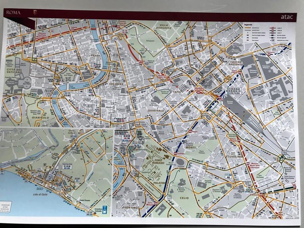 Cartina Roma Turistica.Turismo Accordo Tra Atac E X Municipio Una Nuova Mappa Per Esaltare I Tesori Di Ostia