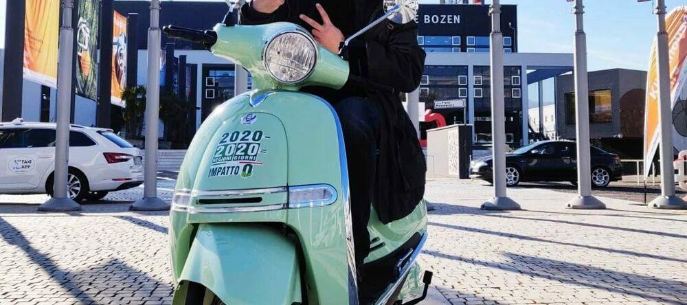 Ecoturismo: lo scooter verde di