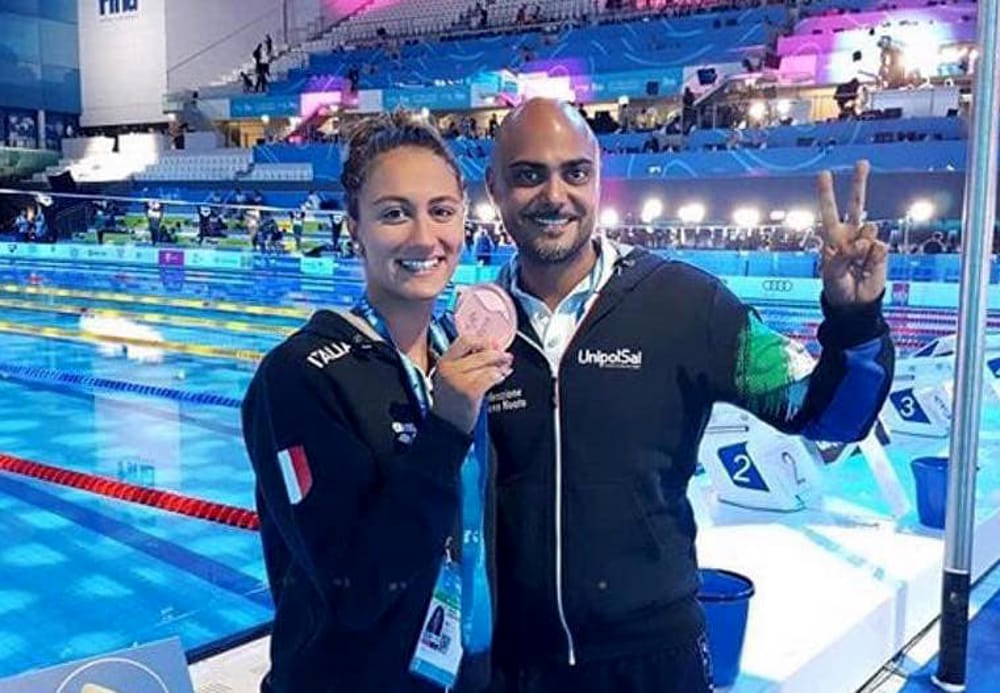 Ottavia bronzo per simona quadarella ai mondiali di nuoto - Piscina trezzano sul naviglio nuoto libero ...