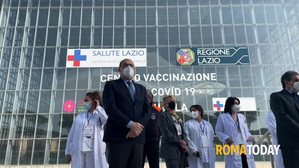 Coronavirus, la Nuvola di Fuksas diventa il più grande hub vaccinale d'Italia